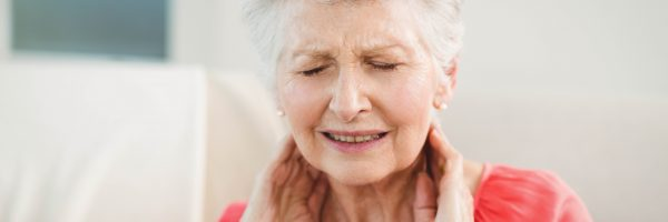 Elderly women with neck pain and headache needs 1-hour treatment